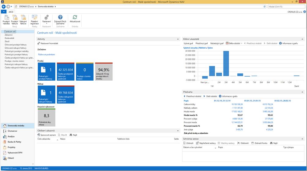 Microsoft Dynamics NAV — Enterprise resource planning